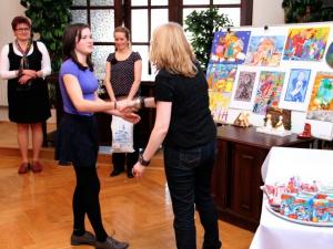 Předání cen soutěže Vánoce a betlém 2013
