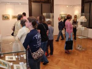 Vernisáž výstavy obrazů 18. 6. 2015