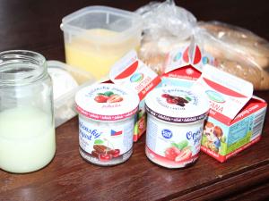 2018 Zpracování mléka