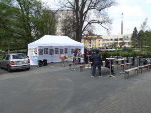 Muzejní kafe na kole